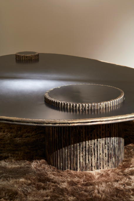Table basse Ring détail
